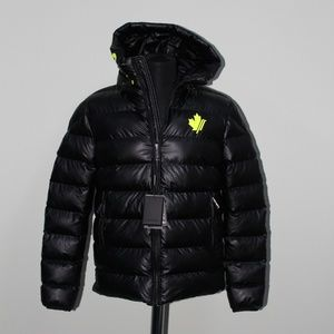 Dsquared2 Black Puffer Jacket